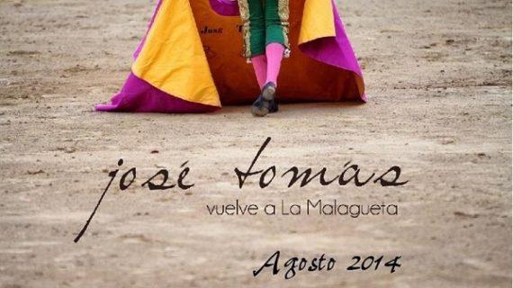 José Tomás toreará en la Feria de Málaga