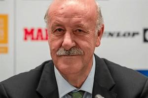 El seleccionador nacional Vicente del Bosque.