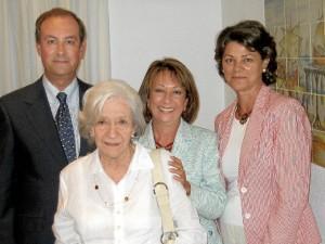 Ana María Matute en La Rábida en 2005.