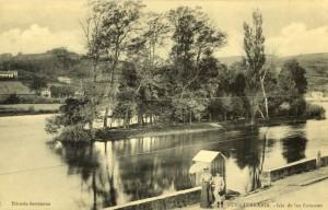 Posta de principios del siglo XX de la ínsula. / Foto: Fototeca Municipal de Irun