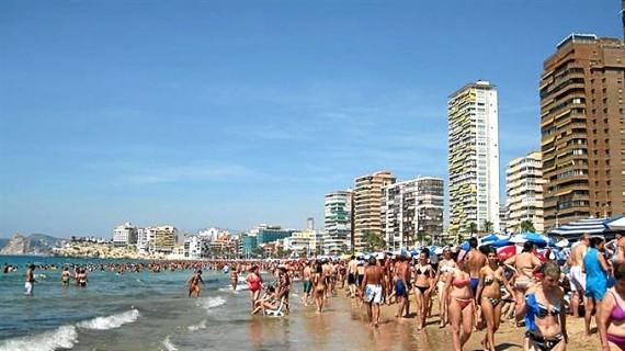 Aumenta la llegada de turistas extranjeros a España