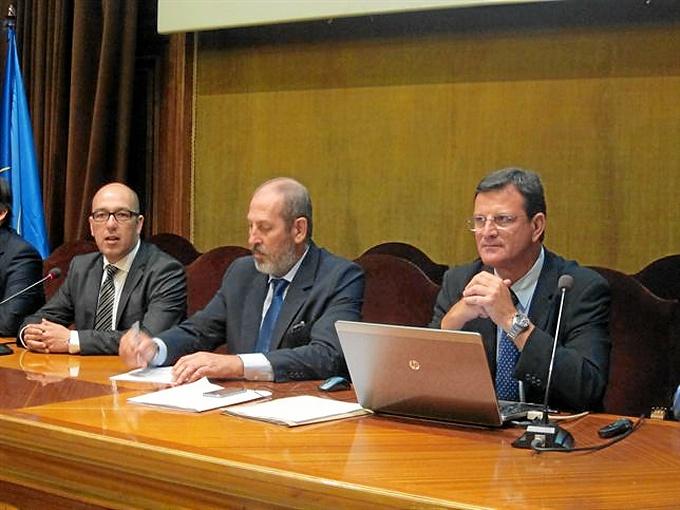 Presentación de la aplicación en rueda de prensa