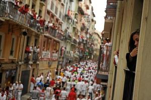El pañuelo rojo, imprescindible para estas fiestas / Foto: Dominik Morbinzek