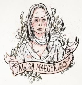 'Talisa' es interpretada por la madrileña Oona Chaplin. / Foto: Gabriela Serrano.