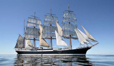 El mítico buque escuela 'Sedóv' atracará en el puerto de Palma