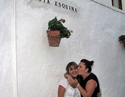 La esquina de los besos se encuentra en Rota