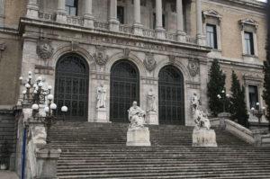 La Biblioteca Nacional de España. / Foto: Europa Press.