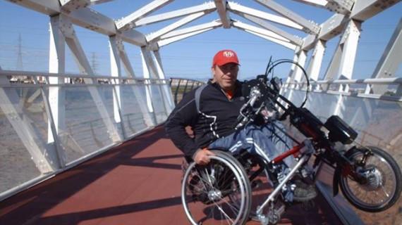 Un deportista parapléjico recorrerá 2.000 km hasta La Selva Negra en Alemania
