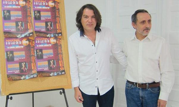 Dorantes y Martirio actuarán en 'Noches de Música a la Luz de la Mina'