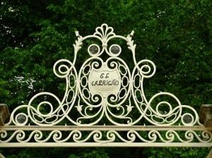 Entrada al Jardín.