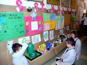 """Alumnos del proyecto proyecto""""Escuelas para la sostenibilidad"""". / Foto: diputaciondepalencia.es"""