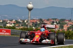 Alonso ha logrado subir al podio en Hungría. / Foto: Federación Española de Automovilismo