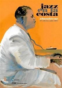 Cartel del festival de Jazz en Almuñécar