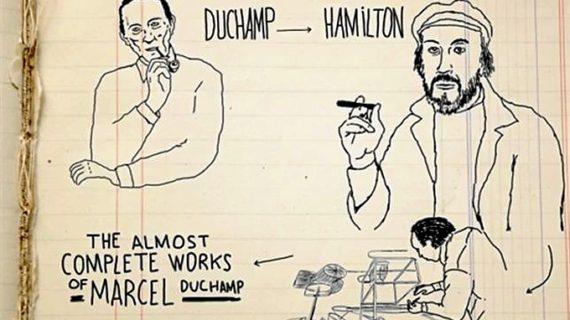 El artista Javi Álvarez realiza un vídeo sobre Richard Hamilton por encargo del Museo Reina Sofía