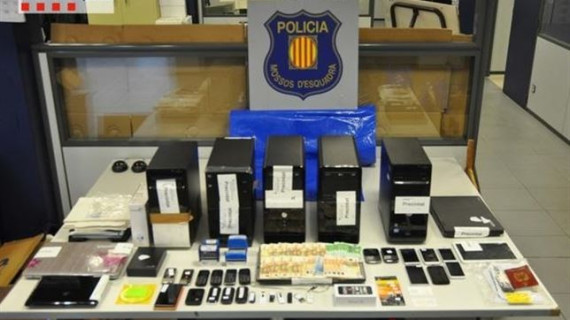 Desarticulada en Cataluña una banda que había defraudado más de 9 millones a Hacienda