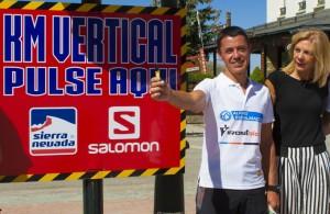 El equipo instalado permitirá medir el tiempo de los corredores. / Foto: sierranevada.es/