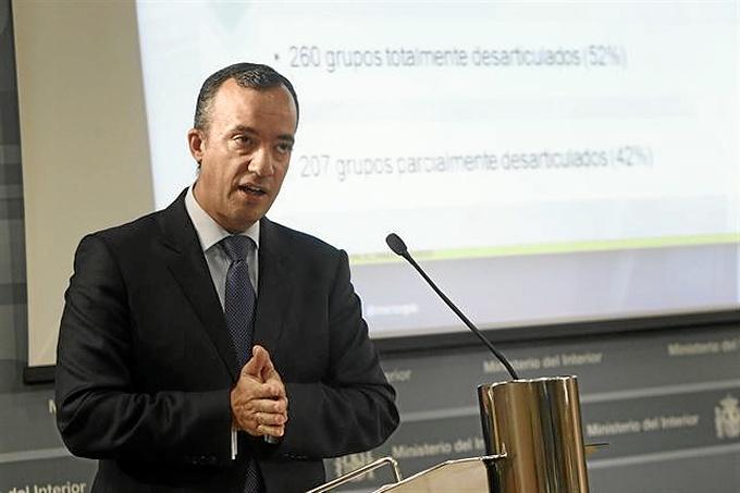 El secretario de Estado de Seguridad, Francisco Martínez.