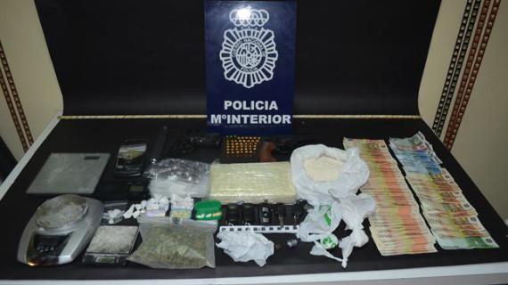 Desarticulada en León una banda dedicada al tráfico de drogas
