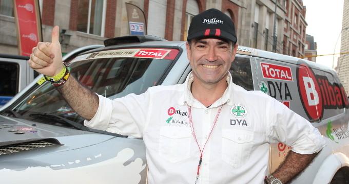 Ignacio Corcuera 'Livingstone' competirá de nuevo en el Rally Dakar