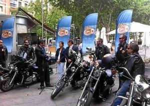 Los moteros recorrerán 5.000 kilómetros por las carreteras españolas. / Foto: Cerveceros de España.