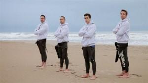 Nadadores de la 'Mediterranean Challenge'