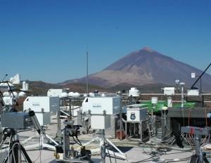 Observatorio Atmosférico de Izaña, en Tenerife.