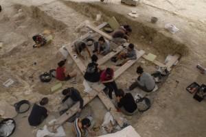 El resto humano más antiguo de Europa se localizó en Orce. / Foto: Iphes.