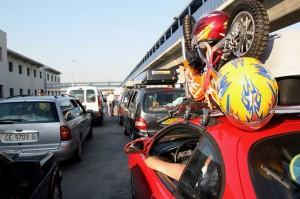 El paso de personas y vehículos se está desarrollando con normalidad. / Foto: Europa Press.
