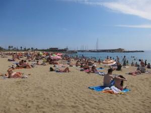 El 94% de las playas catalanas goza de buena calidad.