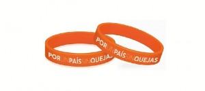 Quienes no se quejen en 21 días recibirán estas pulseras.