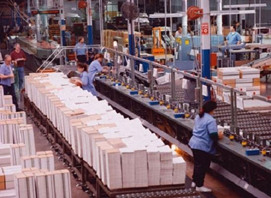 La producción industrial vuelve a repuntar en mayo con una subida del 0,4%