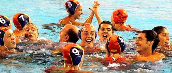 La selección femenina de waterpolo, campeona de Europa