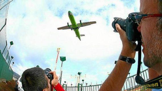 Spotters, cazadores de aviones a través del objetivo