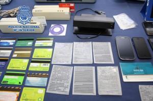 Fraude de tarjetas.