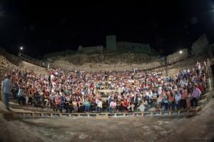 El teatro romano de Medellín volvió a abrir sus puertas. / Foto: www.facebook.com/FestivalMerida