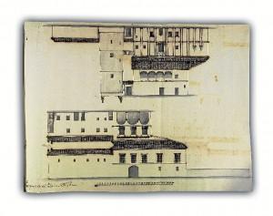 Alzado del Palacio de Donana Foto A.G.F.C.M.S.