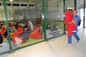 Inmigrantes rescatados./ www.aytotarifa.com