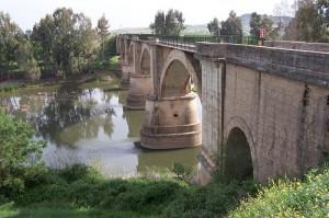 Viaducto sobre el río Guadiana. / Foto: es.wikipedia.org