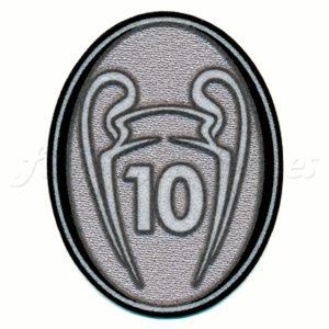 Parche que llevará en el hombro la nueva camiseta del Real Madrid