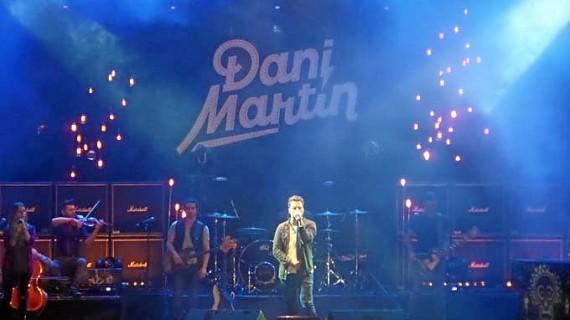 Dani Martín triunfa en el Starlite de Marbella