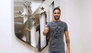 El nuevo jugador del Atlético de Madrid, Jesús Gámez. / Foto: www.clubatleticodemadrid.com