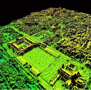 Modelo digital del Palacio Real.