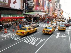 Taxis en la Gran Manzana. / Foto: es.wikipedia.org