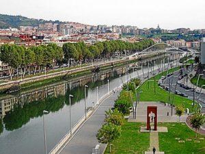 Paseo del Arenal, Bilbao.