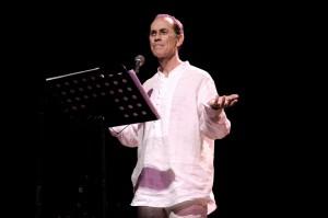 En el recital 'Poetas de Guantánamo'.