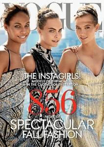 Portada de 'Vogue' en Estados Unidos.