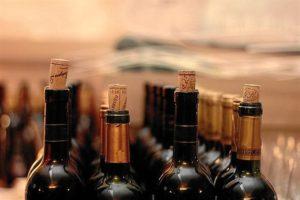 Botellas de vinos españoles