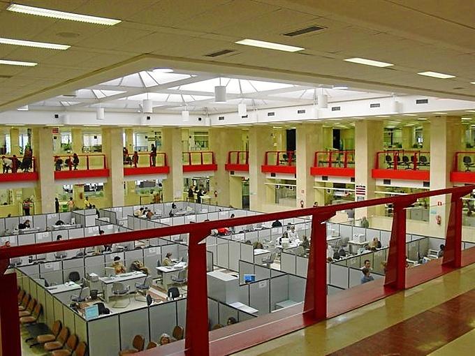 Instalaciones de Agencia Tributaria. / Foto: Agencia Tributaria