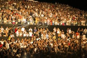 El público, entusiasmado. / Foto: Starlite