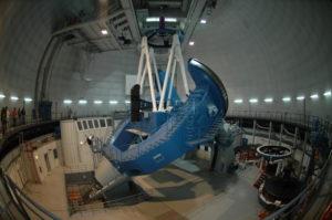 El gran telescopio de Calar Alto.